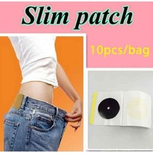 50pcs Slim Navel Stick Slim Patch Magnetic Weight Loss Burning Fat Patch Hot Sale!