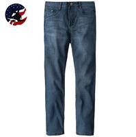 2014 Time-Limited Full Length Jeans Men/ Promotion+Free Shipping Men's Blue Brand Jeans/Straight Skinny Designer Jeans for Men