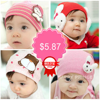 Fashion styles 100%cotton Pocket baby hat baby hats child cap pocket hats for 0-3year old child  baby product free shipping