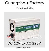 Car inverter 200w12v 220v Car Emergency Power Supply,With USB Port 12V DC Cigarette Lighter To 220V AC to Power Laptop NoteBook