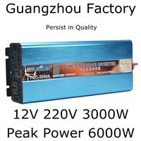 12v 220v 6000w High Power Pure Sine wave inverter,cigarette lighter DC 12V to AC 220V 3000W For Long Use,Peak Power 6000W