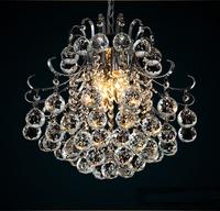 2014 Modern European LED Crystal Chandeliers Ceiling Pendant Lighting Lamp Light Fixture E14 Dining Room Bedroom