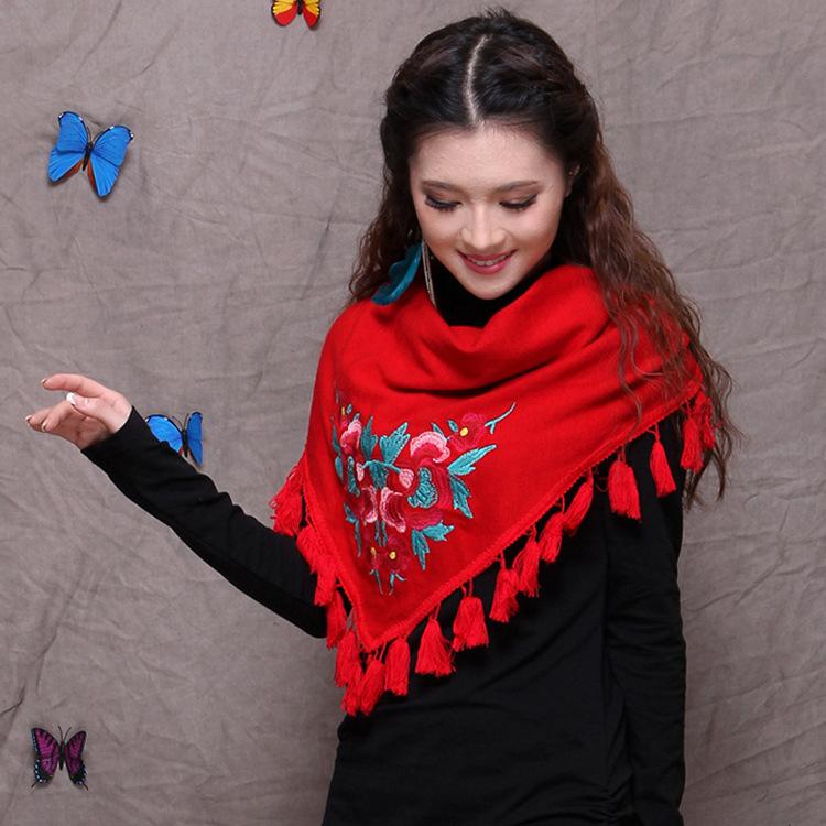 scarvesSovietnationMerrymaskwholesaletasselsfemalefashion Fashion Scarf With Mask