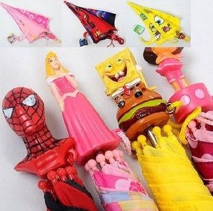 Children's Umbrella Kids Cartoon Free Shipping(China (Mainland))