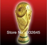 RESIN4.5KG 36cm tall WORLD CUP TROPHY1:1 to real,Soccer Souvenir 2014 brzil world cup REPLICA best soccer fan gift,Free shipping