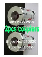 2pcs shaft couplers 10mm-10mm