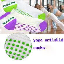 Free Shipping! Natural Anti-pilling Anti-skidding Anti-microbico Breathable Eco-friendly Sport Exercise women Yoga Socks