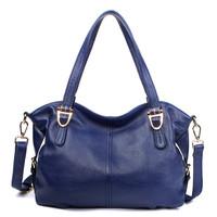 2015 fashion women handbags cowhide genuine leather bag woman casual Sac a main shoulder messenger bags