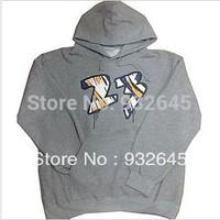 Free shipping!! AJ 23 Basketball hoodies men,USA basketball sweatshirt,Thicken Pullovers black&gray hoodie!