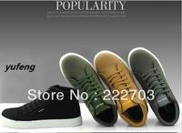 high warm 3color winter nubuck pu leather Cheap Mens Fashion Casual Sneakers shoes for men new 2013 brand shoe wholesale sapato