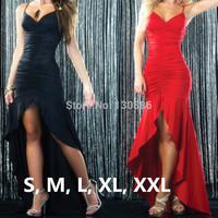 2014 new women summer dress dress party elegant Elastic waist Backless bandage lace Fold Ground-length club dresses plus size