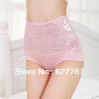 woman lace  lingerie  panties .   Timan Beads, bamboo fiber  breathable lace high waist     sexy underwear  briefs