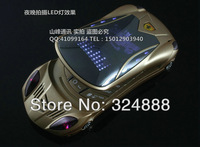 free shipping 2013 New luxury Russian keyboard fashion cell phone luxury Unlocked dual sim card flip car shapes GSM mobile phone