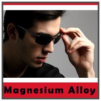Magnesium alloy Frame Fashion Sport Sunglasses Eyewear For men women TAC Polarized Lens UV400 Protection
