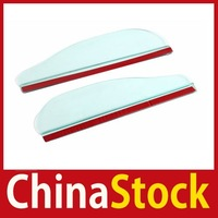 super fashionable [ChinaStock] 2 Pcs Bendable Car Rearview Mirror Rain Deflector New wholesale Limited Sales!
