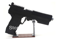 Ausini Gun Series Desert Eagle No.P22512 Building Blocks Sets Educational DIY Self-locking Bricks Toys for Children Gift