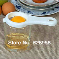 Free shipping cooking tools Egg Dividers Egg yolk separator 13.5CM*6.5CM 10pieces/Lot