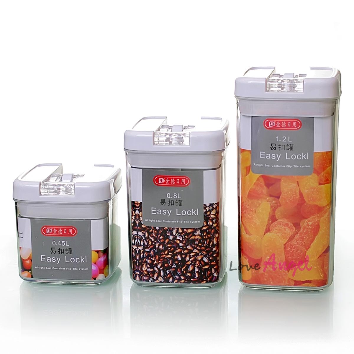 Cristal latas de leite de café caixinha de acrílico latas de feijão tanque tanque de vácuo tanque de armazenamento inculd três garrafas(China (Mainland))
