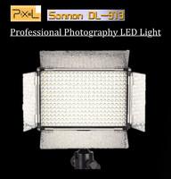 Free Shipping !!! Pixel DL-913 Dslr Multifuntion LED Light Studio Light Flash Photographic Lighting LED Video Light for Camera