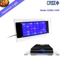Free shipping  NEW Crystal   80W LED Aquarium Light for marine /coral /reef aquarium grow lights