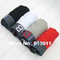 Hot Selling new Brand Underwear Men Boxers 4 pcs/lot