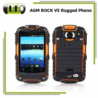 3G Rugged Phone AGM ROCK V5 With Google Play 3.2 Inch Original Android 4.0 Dual Core 512MB RAM + 4GB ROM Waterproof  GPS
