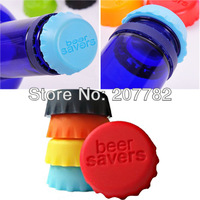 Pack of 6Pcs Wholesale Free Shipping,Rubber Bottle Caps Beer Cap