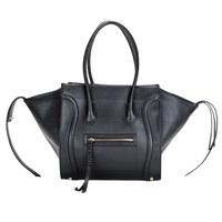 2014 fashion women PU leather handbags brand Large cowhide handbag one shoulder bag smiley package messenger bag totes 12 colors