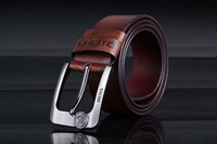 mens cow real genuine leather belts for men free ship dropshipping brand belt famous design