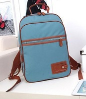 Korean students shoulder bag, College Wind travel computer bag, fashion canvas handbags.vintage student school bag