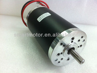 (5pcs) 63ZYT02A - 12v electric brushed dc motor 3000rpm 100w, O.D63mm, rated voltage 12 volt,  rated torque 310mNm