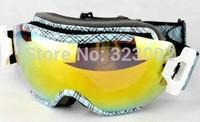 New box double layer basto anti-fog skiing mirror set myopia male and female glasses stunning
