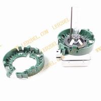 Refit convex lens car HID D1S D2S D3S D4S light Projector Bulb Holder adapters adaptors adapted original base cable 10pcs/lot