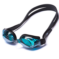 G1104M dazzling anti-fog mirror coated silicone swimming goggles