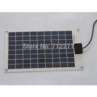 10Watt 17.8V 440*246*2.5mm Aluminum no frame Mini flexible small solar panel