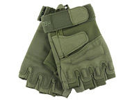 Black/army green/light grey  special forces outdoor tactical glove hell storm half gloves Half Finger M