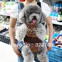 fashion  pet dog Cat cross-body backpack kangaroo chest pack clothing