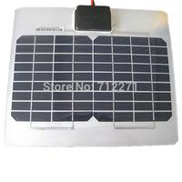 5W 17.8V 272*232*2.5mm aluminum no frame Mini flexible small solar panel