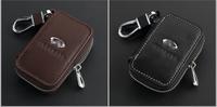 Top Genuine Leather Remote Control Bag For Q50 FX35 G37 G25 G35 FX6 JX35 QX56 QX50 key Bag Key Case