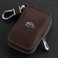 Leather Remote Control Bag FOR KIA K3 K5 K9 Sportage R Forte ceed RIO Cerato Optima Soul Sorento Carens Oprius key Bag Key Case