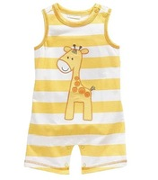 2014 Retail Jumping Beans Baby Shortalls Romper Baby One-pieces Clothes Toddler Overalls Newborn shortalls Babywear W187