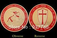 Knights Templar Gold Coin