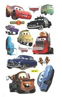 Free shipping LM1007 New Arrival Hot Removable Wall Stickers House Decorative Pixar Cars Sticker Small Size 24*43cm