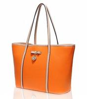 fashion genuine leather simpleness handbag
