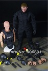 "Super Cool Black Demountable Lifelike 12"" Tall 1/6 SWAT Military Action Model Soldier Models Toy Figures Uniform Combat Suit(China (Mainland))"