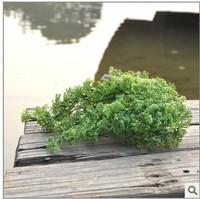 10pcs/lot Free shipping 2013 new design artificial League grass ,Plant simulation fish jar decoration