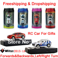 Brand WL Electronic,New Coke Can Mini Speed Radio Remote Control Toy Gifts,Micro Racing RC Car,Freeshipping&Dropshipping