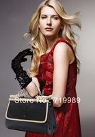 Europe new style 2014 Fashion vintage women handbag crocodile pattern genuine leather bag shoulder messenger bags