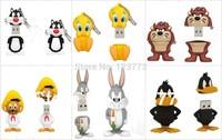 New Cartoon animals model usb 2.0 memory flash stick thumb pen drive 4-32GB free shipping
