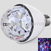 Free Shipping Elegant Design and New Technology XL-15 E27 3W LED Rotating Laser Lamp / Mini Stage Light Chrismas Party